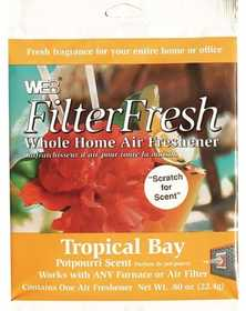 Protect Plus Industries WTROPIC WEB FilterFresh Tropical Bay Whole Home Air Freshener