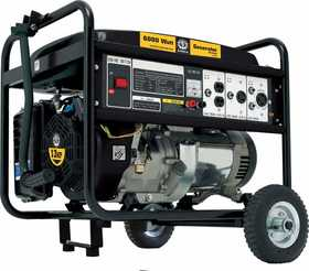 Steele SP-GG-600 6000w Mobile Generator