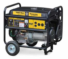 Steele SP-GG-750E 7500w Mobile Generator With Electric Start