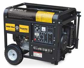 Steele SP-GG-900E 9000w Mobile Generator With Electric Start
