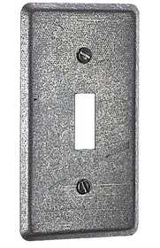 Thomas & Betts 58 C 30 One Gang Utility Box Cover With Single Toggle Switch