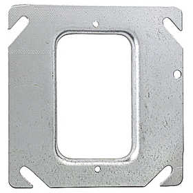 THOMAS & BETTS 52C36 One Gang Square Device Cover