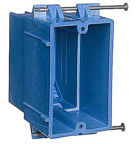 Thomas & Betts BH122A-UPC SuperBlue Hard Shell Non-Metallic Outlet Box
