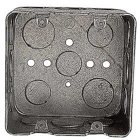 THOMAS & BETTS 2G4D 1/2 3/4 2 Gang Drawn Style Outlet Box
