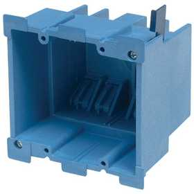 Thomas & Betts BH234R SuperBlue Hard Shell Non-Metallic Old Work Outlet Box