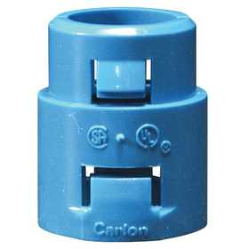 Thomas & Betts A253D-CAR 1/2 in Ent Non-Metallic One-Piece Snap-In Adapter