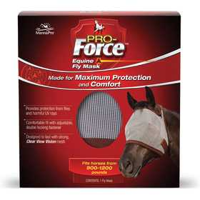 Manna Pro MPC 0994479912 Pro-Force™ Equine Fly Mask