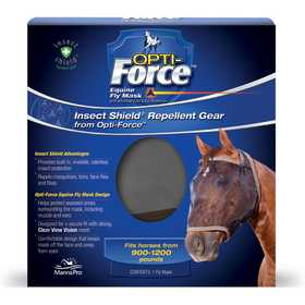 Manna Pro MPC 0994489912 Insect Shield Opti-Force Fly Mask