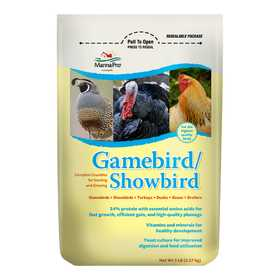 Manna Pro 00-4620-3236 Gamebird/Showbird Feed 5lb