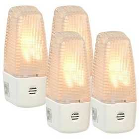 Amertac 72060 Faceted Auto On/Off Nite Lite, 4-Pack