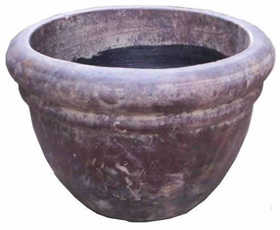 Amigos Pottery 506 #100 Round Pot 11.5 in