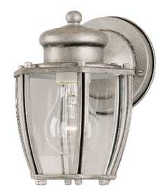 Westinghouse Lighting 64688 Wall Lantern 1-Light Antique Silver