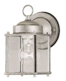 Westinghouse Lighting 64684 Wall Lantern 1-Light Antique Silver
