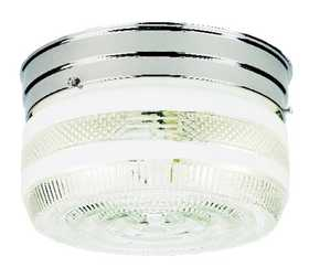 Westinghouse Lighting 66240 Ceiling 2-Light Flush Mount Chrome