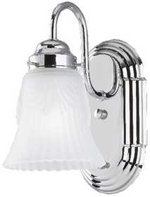 Westinghouse Lighting 66521 Wall Bracket 1-Light Chrome