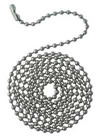 Westinghouse Lighting 7704900 Stainless Steel Beaded Chain With Connector