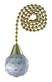 Westinghouse Lighting 7708400 Acrylic Sphere Pull Chain