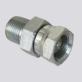 Apache Hose and belting 39004300 3/8 In Male Pipe Thread X 1/2 In Female Pipe Thread Swivel Hydraulic Adapter