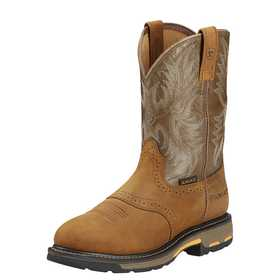 ARIAT INTERNATIONAL, INC 10001188 Men's Workhog Pull On Boot 9.5ee