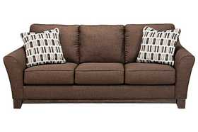 Signature Design By Ashley 4380638 Janley Chocolate Sofa