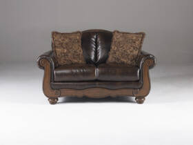 Signature Design By Ashley 5530035 Barcelona - Antique Loveseat