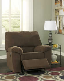 Signature Design By Ashley 3380125 Kickoff - Chocolate Rocker Recliner