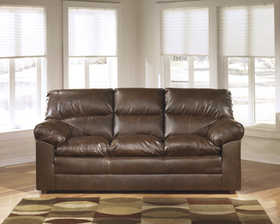 Signature Design By Ashley 7710038 Corrick Durablend Sofa In Espresso