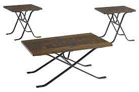 Signature Design By Ashley T303-13 Occasional Table Set Freimore Brown/Black