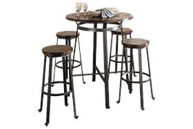 Signature Design By Ashley D307-12 Challiman Round Dining Room Bar Table