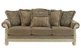 Signature Design By Ashley 1620238 Parkington Bay Sofa In Platinum