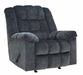 Signature Design By Ashley 8110525 Rocker Recliner Ludden Blue
