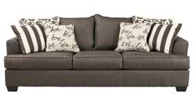 Signature Design By Ashley 7340338 Sofa Levon Charcoal