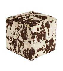 Signature Design By Ashley 2210213 Accent Ottoman Bremer Chocolate/White