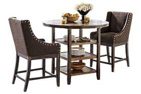 Signature Design By Ashley D608-13 Moriann Round Counter Table