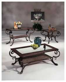 Signature Design By Ashley T727-2 Square End Table Longworth