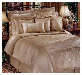 Signature Design By Ashley Q015455 Bed In Bag Queen Toile Ivory