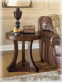 Signature Design By Ashley T610-6 Round End Table