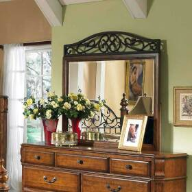 Signature Design By Ashley B429-36 Wood Frame Mirror