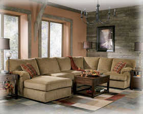 Signature Design By Ashley 8120116/34/67 n.o. Bartlett Caramel Left Corner Chaise Sectional