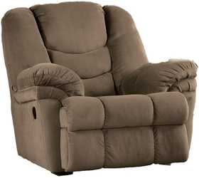 Signature Design By Ashley 7480025 Galaxy Mocha Rocker Recliner
