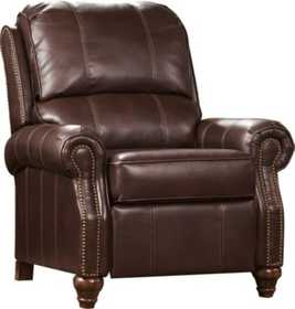 Signature Design By Ashley 7730330 Low Leg Recliner Birsh DuraBlend Brindle