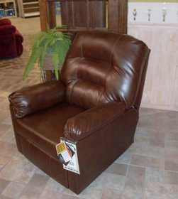 Signature Design By Ashley 7560429 Recliner Nova Durablend Leather Expresso