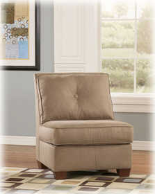 Signature Design By Ashley 6700246 Chair Armless Mocha Collins