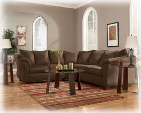 Signature Design By Ashley 7500455/5655 Darcy Cafe Sectional With Wedge