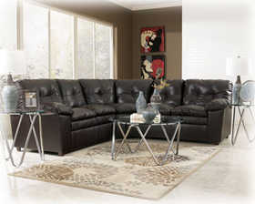 Signature Design By Ashley 1230055/56 n.o. Jordan Java Sectional Set