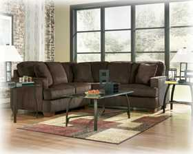 Signature Design By Ashley 1280255/67 N.O. Atmore Chocolate Left Corner Sectional