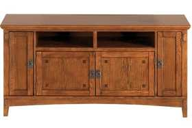Signature Design By Ashley W319-38 Large Cross Island Tv Stand