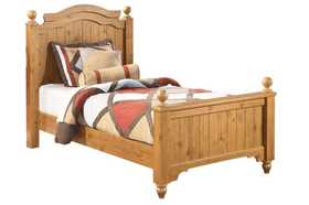 Signature Design By Ashley B233 Twin Poster Bed Set