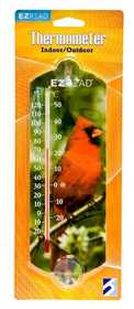 Headwind 840-0004 Indoor/Outdoor Thermometer Cardinal 10 in