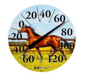 Headwind 840-1230 Dial Thermometer Horse 12.5 in